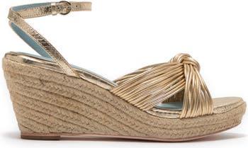 Ankle Strap Espadrille Wedge Sandal Frances Valentine
