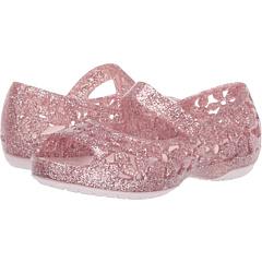Изабелла Флауэр Флэт (малыш / малыш) Crocs Kids