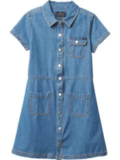 Джинсовое платье-рубашка (для больших детей) Lucky Brand Kids