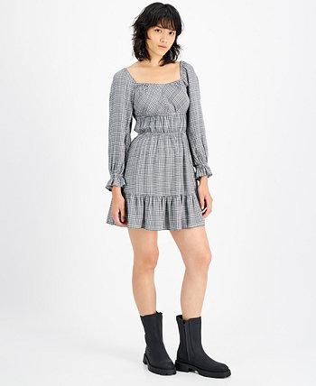 Платье Emma в клетку с оборками RAHI