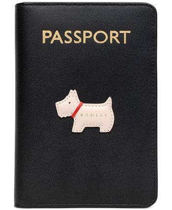 Кожаная обложка на паспорт Radley London