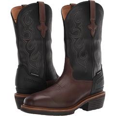 Рабочие ботинки с прорезью Western 12 дюймов, водонепроницаемый небезопасный носок Lucchese