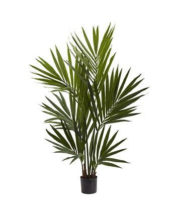 4 'пальмовое шелковое дерево Kentia NEARLY NATURAL