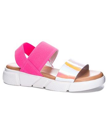 Женские радужные спортивные сандалии Advocate Dirty Laundry