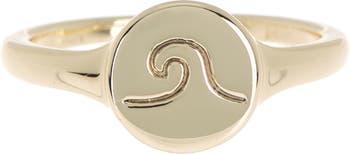 Кольцо для монет Wave - размер 7 Pura Vida