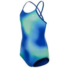 Сплошной купальник Nike Spectrum Crossback для девочек 7–16 лет Nike