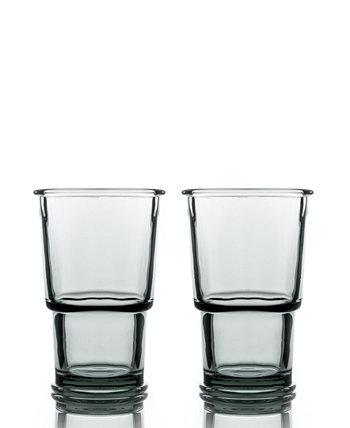 Бокалы для вина с кольцом - набор из 2 шт. BOMSHBEE