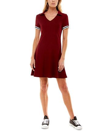 Юниорское платье с расклешенным вырезом и воротником-стойкой Almost Famous