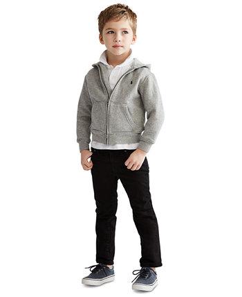 Толстовка с капюшоном на молнии для маленьких мальчиков Ralph Lauren