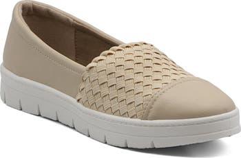 Reza Woven Casual Slip-On Sneaker Mootsies Tootsies