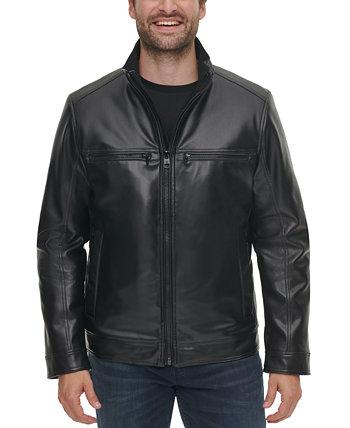 Мужская куртка из искусственной кожи, созданная для Macy's Calvin Klein
