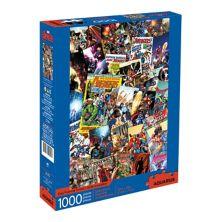 Водолей, обложки комиксов Marvel о Мстителях, головоломка из 1000 элементов Aquarius