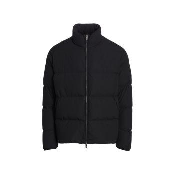 Классическая куртка-пуховик Emporio Armani