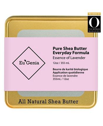 Многоцелевой увлажняющий крем для лица, тела и волос с маслом ши для сухой кожи Eu'Genia Shea