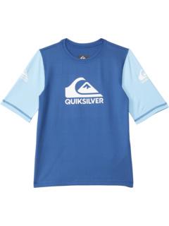 Рашгард с короткими рукавами Heats On (для малышей / маленьких детей) Quiksilver Kids