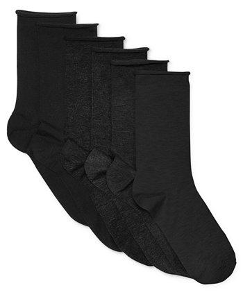 Женские носки с закручивающимся верхом из 6 пар Ralph Lauren