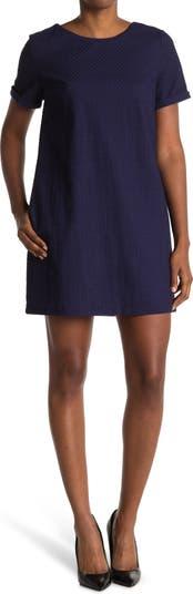 Платье с короткими рукавами и завязками на спине FRNCH