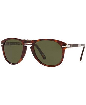 Мужские поляризованные солнцезащитные очки, PO0714SM 54 Persol Steve McQueen Persol