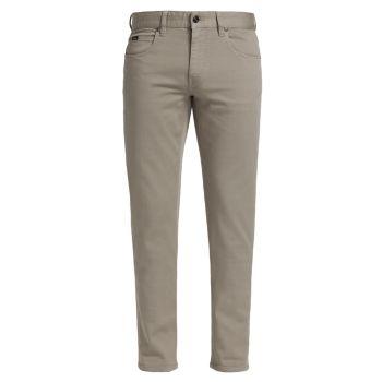 Зауженные джинсы с пятью карманами Z Zegna