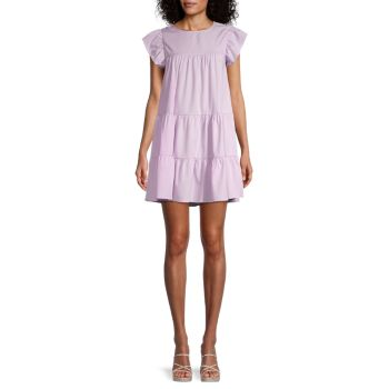 Многоуровневое мини-платье STELLAH