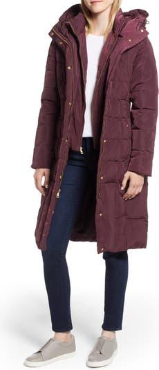 Пальто Cole Haan со вставками и перьями COLE HAAN SIGNATURE