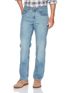 Джинсовые брюки стандартного кроя с прямыми штанинами LEE