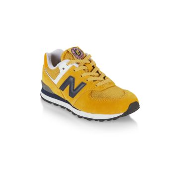Kid's New Balance 574 Suede Low-Top Sneakers New Balance