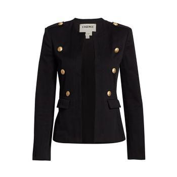 Куртка в стиле милитари Rye L'AGENCE
