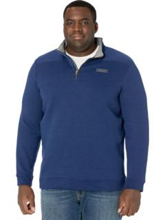 Рубашка овчарка из флисовой морской воды Vineyard Vines