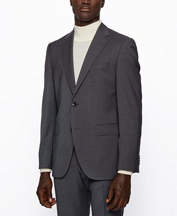 Мужской костюм Jeckson / Lenon2 стандартного кроя из натуральной шерсти BOSS BOSS Hugo Boss