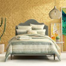 Five Queens Court Leona Green Comforter Set with Shams Five Queens Court