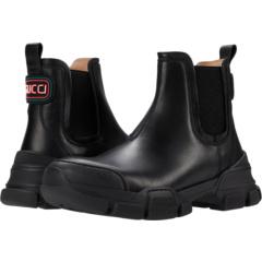 Кожаные сапоги Леона (Маленький ребенок) Gucci Kids