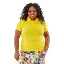 Рубашка-поло большого размера Nancy Lopez Journey Nancy Lopez