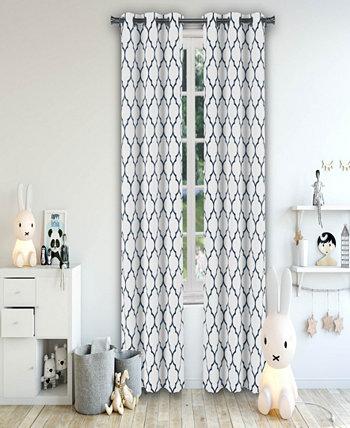 Парные панели с люверсами Mattyson Blackout 37 дюймов x 84 Duck River Textile