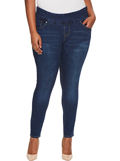 Джинсы скинни Butter без застежки больших размеров Nora в цвете Flatiron Jag Jeans