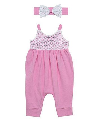 Комплект из 2 предметов гарем для маленьких девочек и повязки на голову Baby Starters