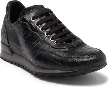 Zagato Croc Embossed Sneaker Mezlan