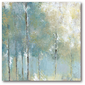 "Картина на холсте в галерее ""Шепчущий свет"" - 16 ""x 16"" Courtside Market"