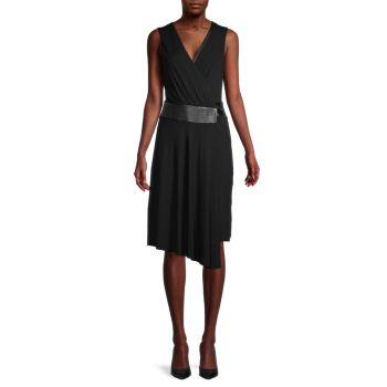 Платье без рукавов с искусственным запахом Bailey 44