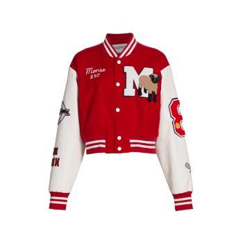Cropped Letterman Jacket MONSE