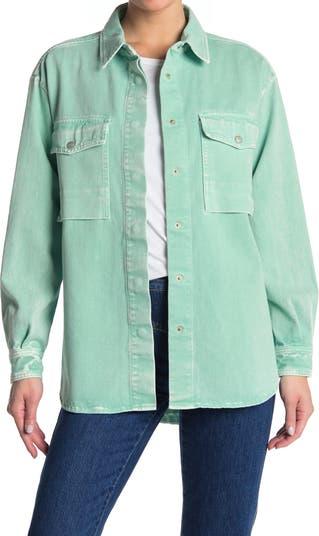 Elva Shirt Jacket CLOSED