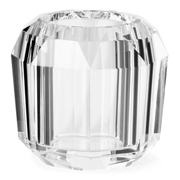 Leigh Faceted Crystal Votive  Size Ralph Lauren