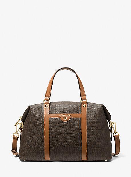 Сумка-портфель Beck среднего размера с логотипом Michael Kors