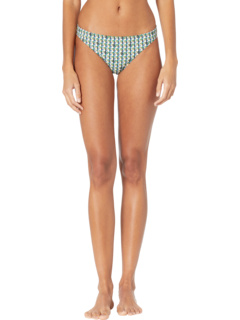 Плавки бикини с принтом Tory Burch Swimwear