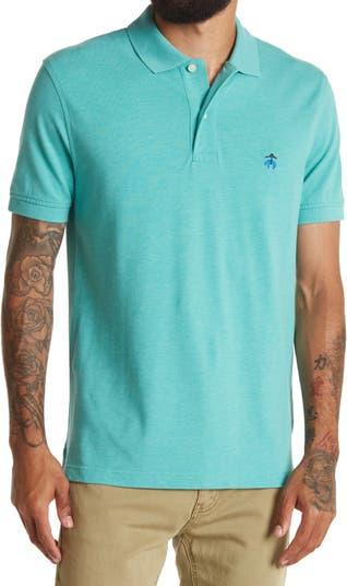 Узкая рубашка-поло из эластичного хлопка Supima Brooks Brothers