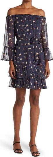 Тканое платье с цветочным принтом Collective Concepts