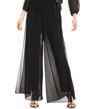 Миниатюрные прямые накладные брюки Alex Evenings