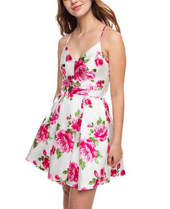 Приталенное и расклешенное платье Юниоров B Darlin