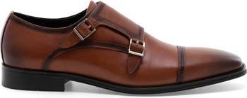 Классические туфли McCain с двумя ремешками-монахами J75 By Jump