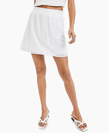 Мини-юбка с прорезями LEYDEN